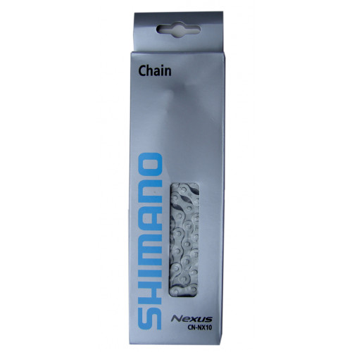 řetěz SHIMANO CN-NX10 114 čl. stříbrný 1/2
